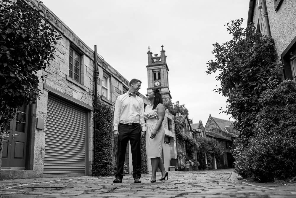 Edinburgh Engagement Photographer - Janet & Eric