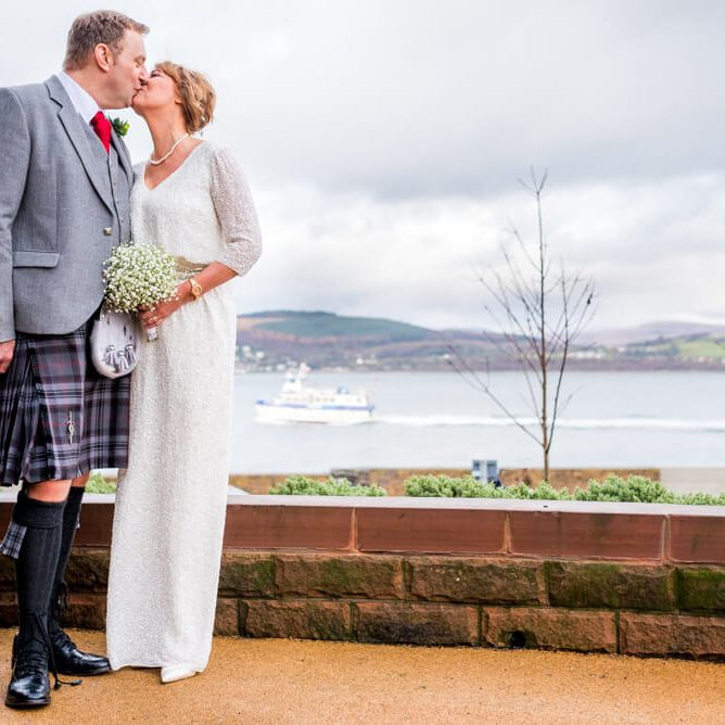 Gourock Wedding Photographer - Mo & Scott