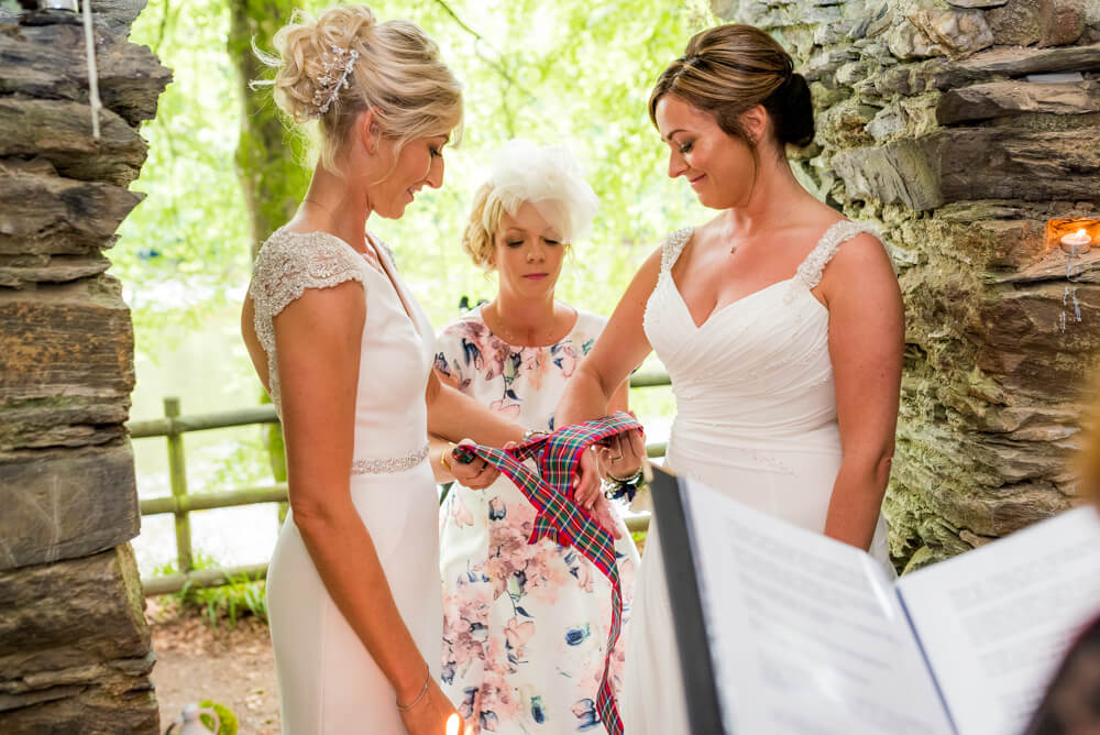 Brides tie the knot