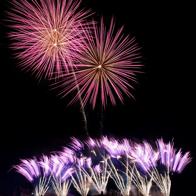 Edinburgh Festival Fireworks Photographer
