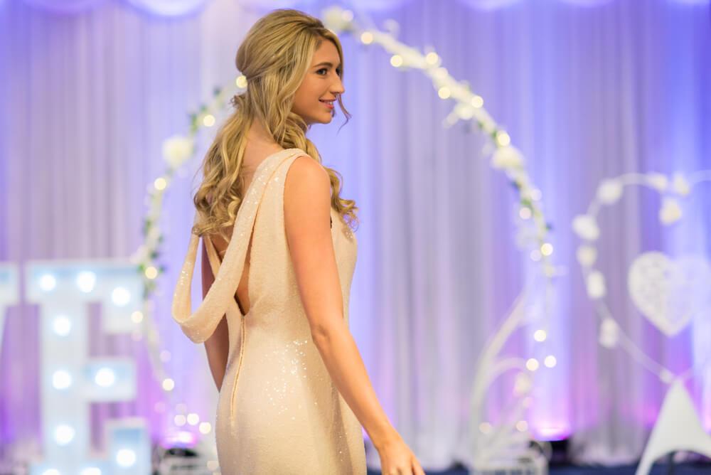Bridesmaid dress in Edinburgh